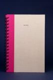 Spiraalvormig Notitieboekje Stock Foto's