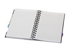 Spiraalvormig notitieboekje Royalty-vrije Stock Afbeelding