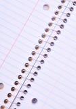 Spiraalvormig notitieboekje Stock Afbeeldingen