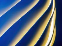 Spiraalvormig patroon Stock Foto