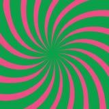 Spiraalvormig patroon royalty-vrije illustratie