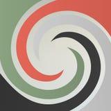 Spiraalvormige abstracte achtergrond royalty-vrije illustratie