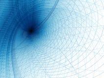 Spiraalvormige achtergrond - abstract digitaal geproduceerd beeld Stock Fotografie