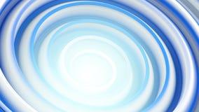 Spiraalvormige 3D vorm abstracte achtergrond Royalty-vrije Stock Foto