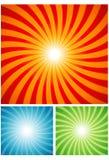 Spiraalvormige de zomeruitbarsting Stock Foto's