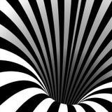 Spiraalvormige Draaikolkvector Illusiewerveling Het Effect van het tunnelgat Beweging in de Vorm wordt uitgevoerd die psychedelis vector illustratie