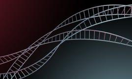 Spiraalvormige Geneticabundels Stock Foto's