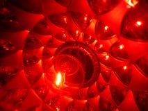 Spiraalvormige lichten Royalty-vrije Stock Foto's