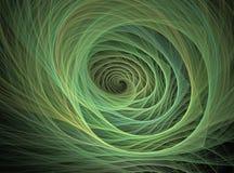 Spiraalvormige lijn Stock Afbeelding