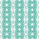 Spiraalvormige patronenachtergrond Royalty-vrije Stock Afbeeldingen