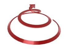 Spiraalvormige Pijl Royalty-vrije Stock Foto