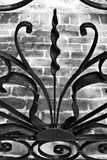 Spiraalvormige Poort Stock Afbeelding