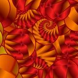 Spiraalvormige Punten Vector Illustratie
