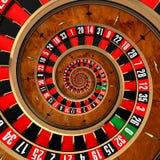 Spiraalvormige Roulette Stock Afbeelding