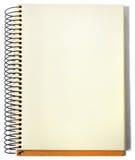 Spiraalvormige Sketchbook Stock Foto's