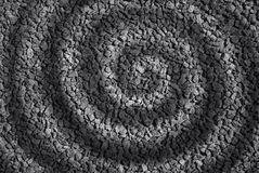 Spiraalvormige steen abstracte achtergrond Stock Afbeeldingen