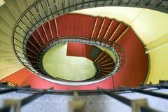 Spiraalvormige trap Stock Foto