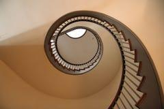 Spiraalvormige trap Royalty-vrije Stock Afbeelding