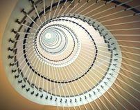 Spiraalvormige trap Royalty-vrije Stock Foto