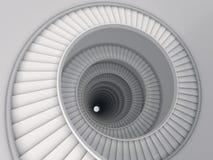 Spiraalvormige trede Royalty-vrije Stock Afbeelding