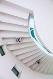 Spiraalvormige trede Stock Afbeeldingen
