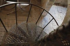Spiraalvormige Trede Royalty-vrije Stock Afbeeldingen