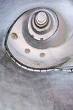 Spiraalvormige treden Royalty-vrije Stock Foto