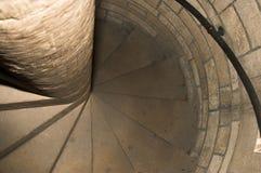 Spiraalvormige treden Royalty-vrije Stock Foto's