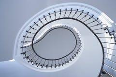 Spiraalvormige Treden Royalty-vrije Stock Afbeeldingen