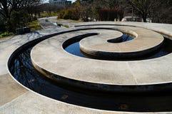 Spiraalvormige Zen Royalty-vrije Stock Fotografie