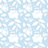 Spiraea bush seamless pattern Royalty Free Stock Photography