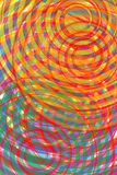 Spiral. Computer-generated image with vivid and striking colors/colours Stock Illustration