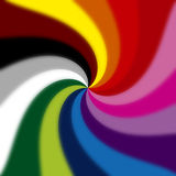 Spiral. Colored spiral royalty free illustration
