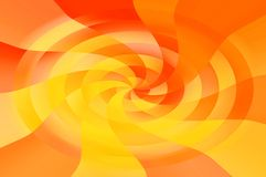 Spiral abstract. A colorful spiral design Stock Image