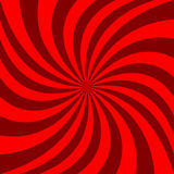 Spiral abstract background - vector graphic design from rotated rays. Red spiral abstract background - vector graphic design from rotated rays vector illustration