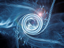 Spiral Advancement Royalty Free Stock Image