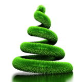 Spiral as Christmas tree Stock Photography