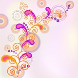 Spiral  background. Royalty Free Stock Photos