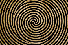 Spiral background. Spinning spiral background retro style Stock Images
