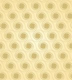 Spiral background. Seamless spiral background. Gold and brown Stock Image