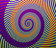 Spiral background Royalty Free Stock Photo
