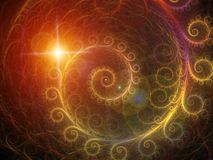 Spiral Background. Royalty Free Stock Images