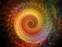Spiral Background. Stock Images