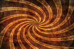 Spiral Background Texture. A texture background featuring yellow spiral rays stock illustration