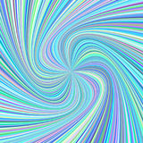 Spiral background - vector graphic from rotated rays in colorful tones Royalty Free Stock Images