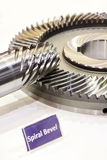 Spiral Bevel Gear Shaft Stock Photography