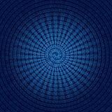 Spiral binary code Stock Photos