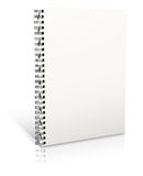 Spiral binder Royalty Free Stock Image