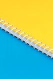 Spiral binding Stock Image