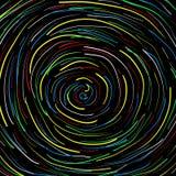 Spiral black background Stock Photo